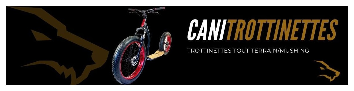 Cani Trottinette : Trottinettes Tout Terrain et Mushing